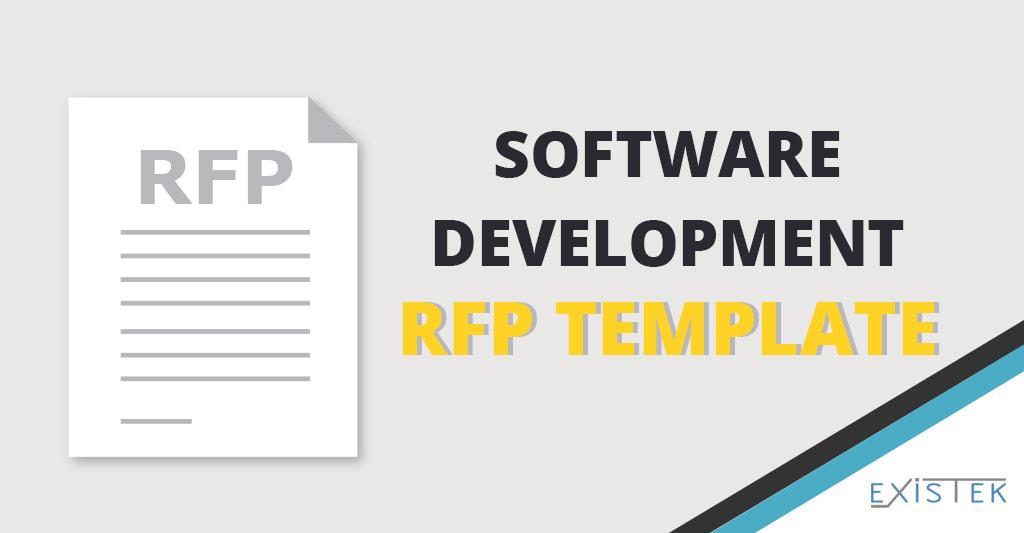 Rfp Template For Software Development