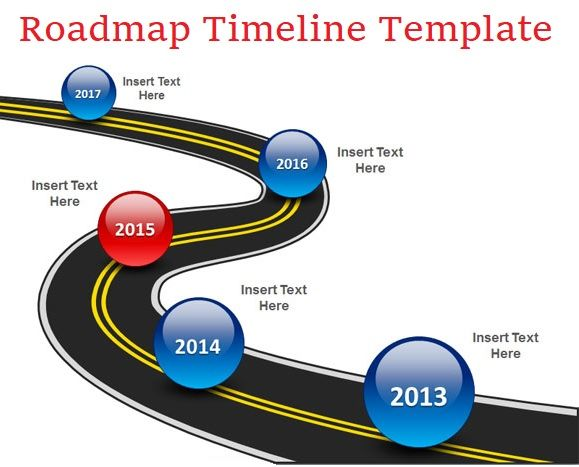 Roadmap Timeline Template Excel