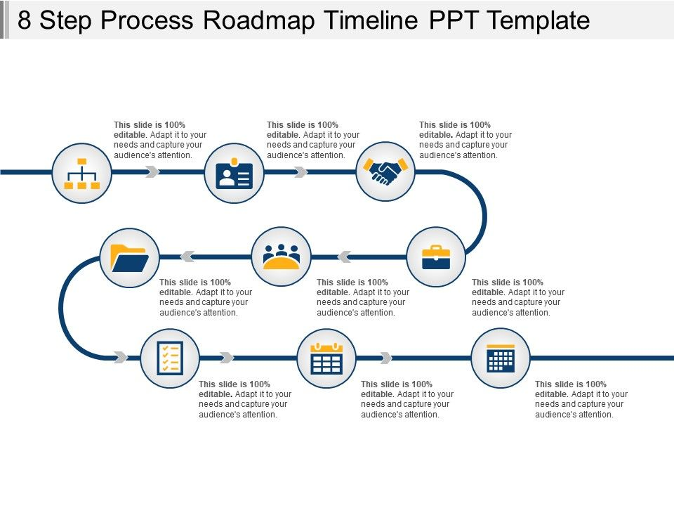 Roadmap Timeline Template Ppt