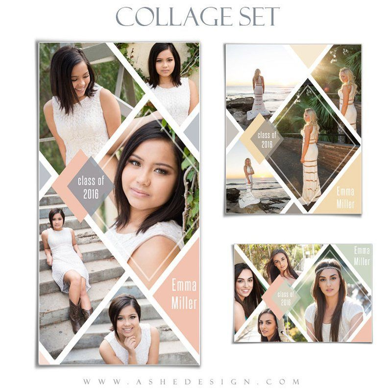 Senior Collage Templates
