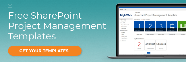 Sharepoint Project Management Dashboard Template