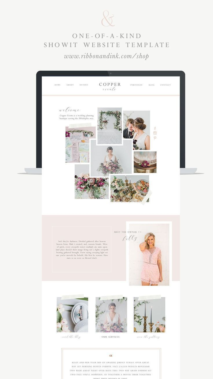 Showit Website Templates