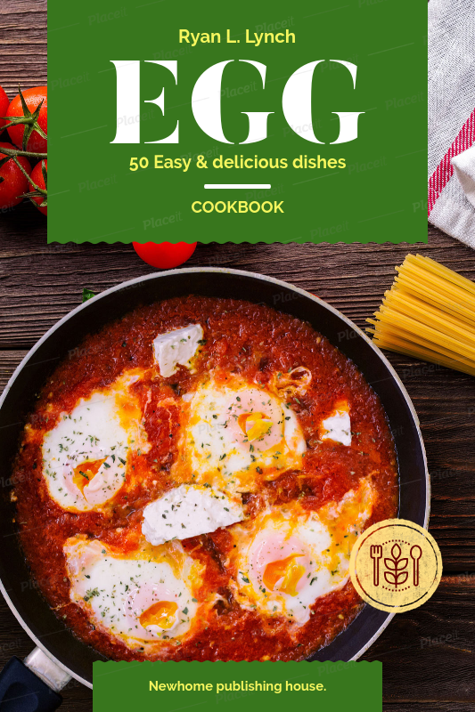 Template For Cookbook Cover
