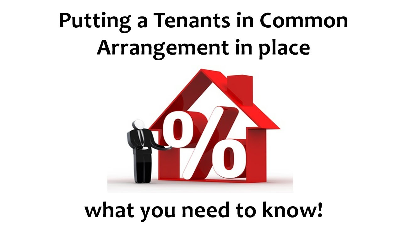 Tenants In Common Agreement Template Australia