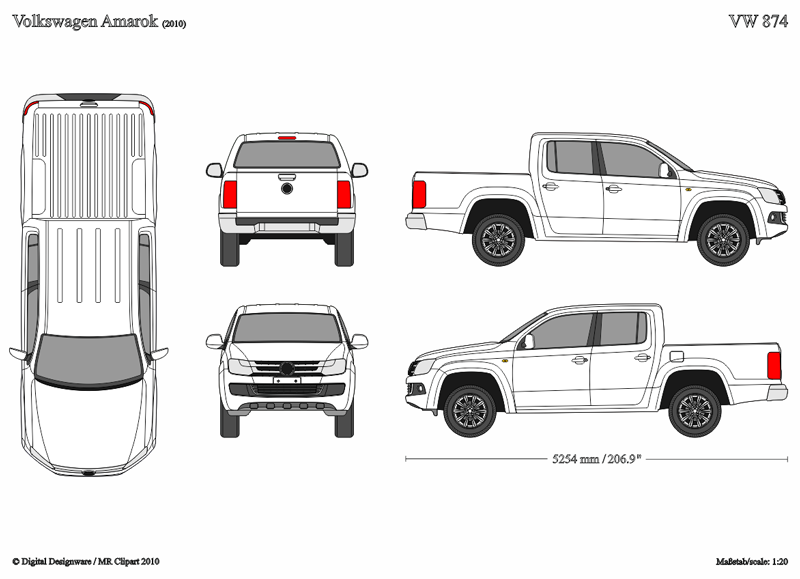 Vector Vehicle Templates