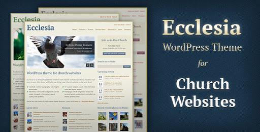 Wordpress Templates For Churches