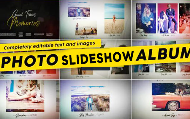 100 Photo Slideshow After Effects Template Free Downloads