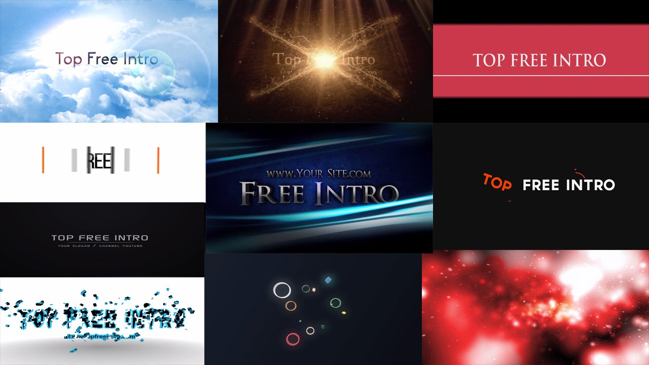 After Effects Cs6 Templates Free