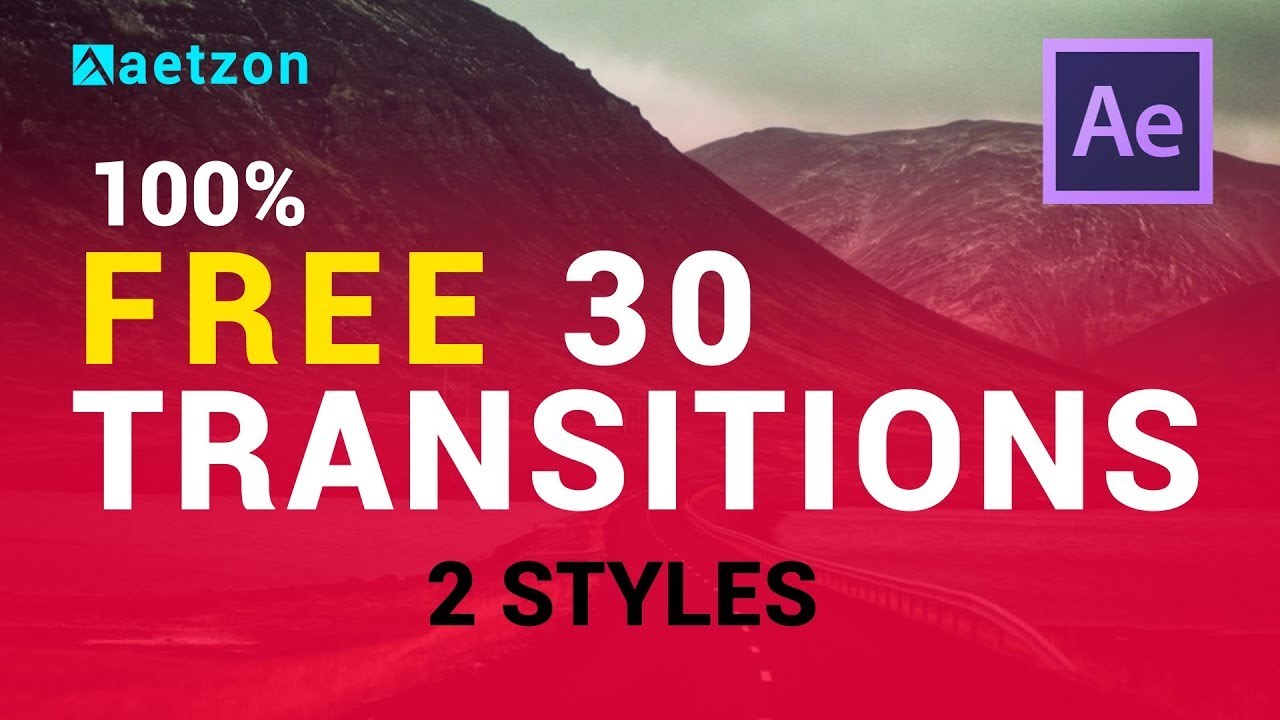 After Effects Transitions Templates Free Download