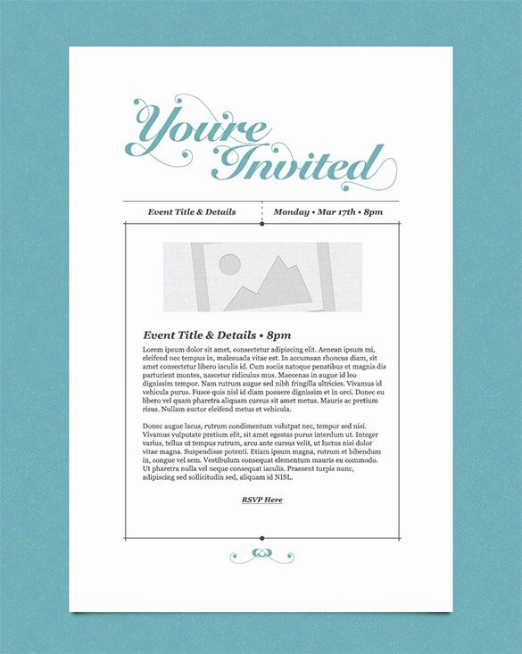 Business Event Invitation Templates Email