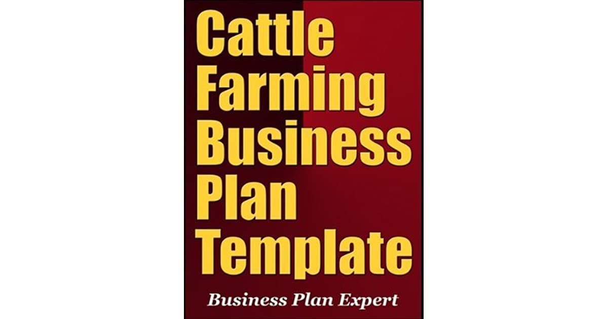 Cattle Business Plan Template