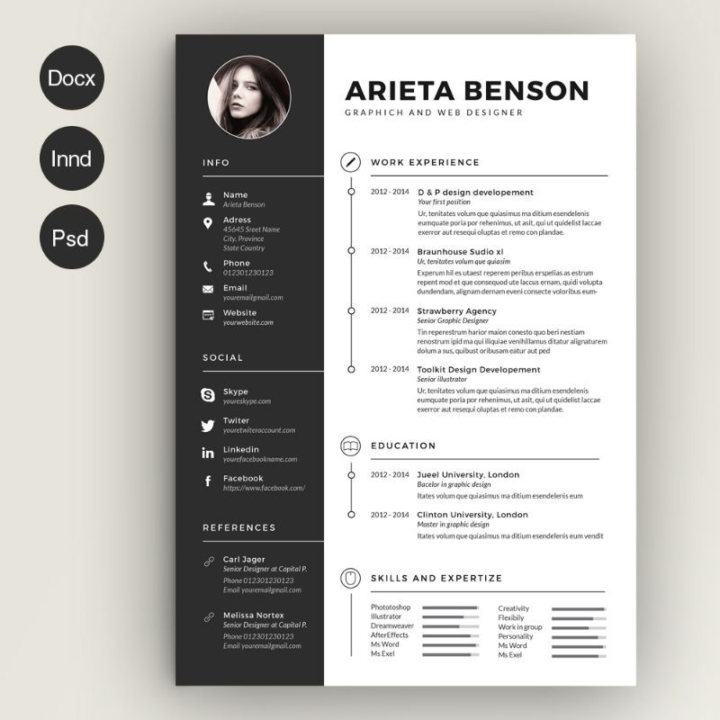 Civil Engineer Resume Template Word
