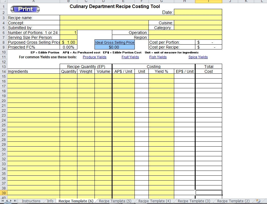 Conference Room Reservation Template Excel