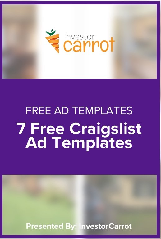 Craigslist Real Estate Ad Templates
