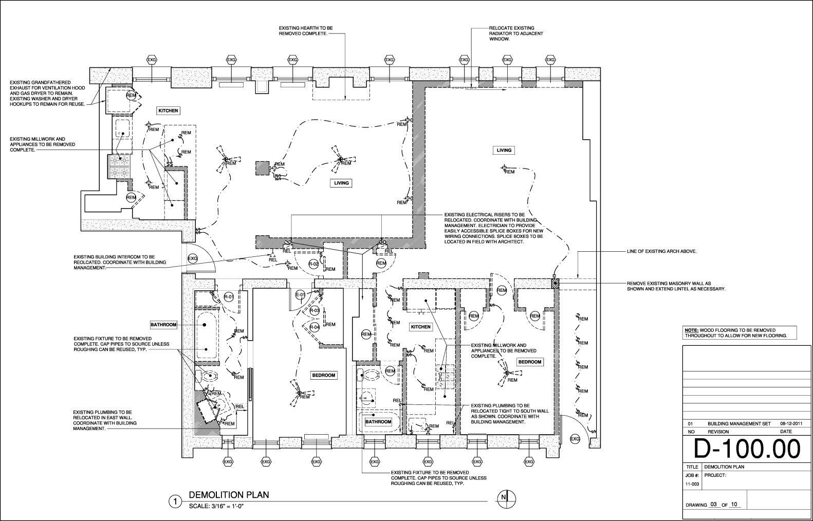 Demolition Plan Template