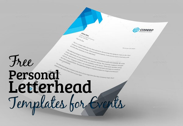 Design Templates For Letterhead