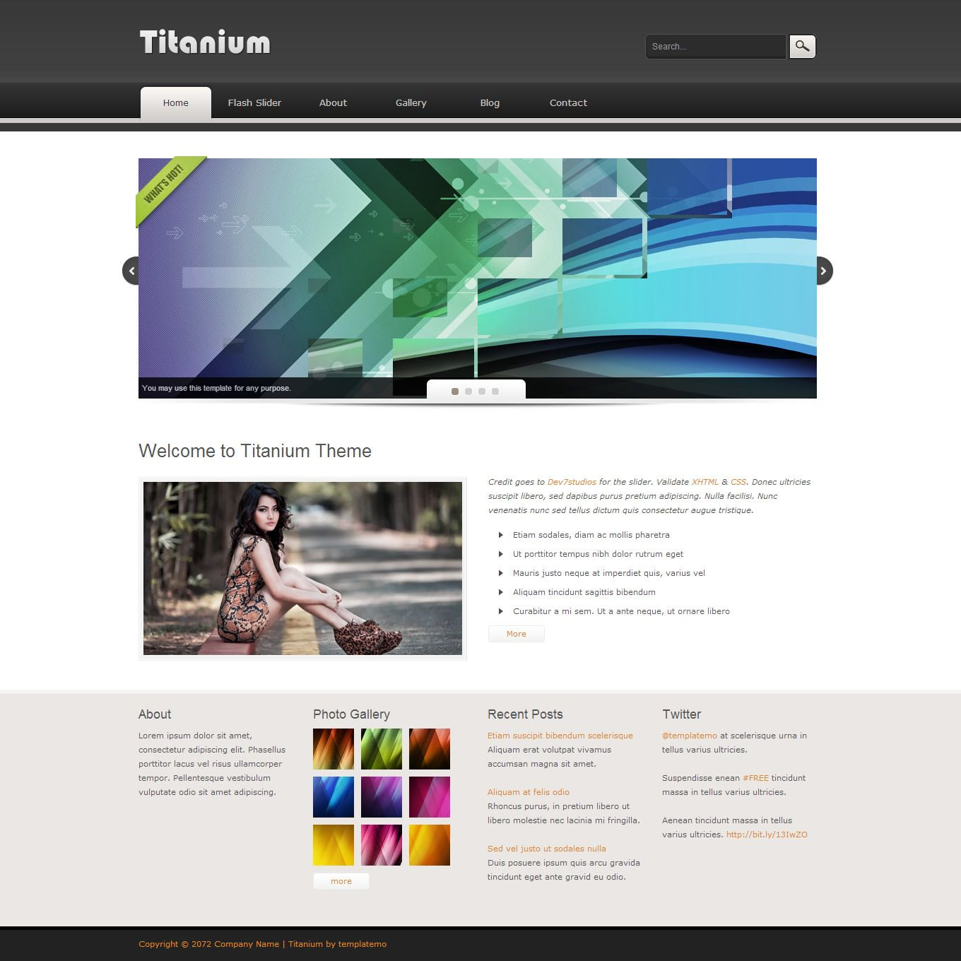 Dreamweaver Web Page Templates