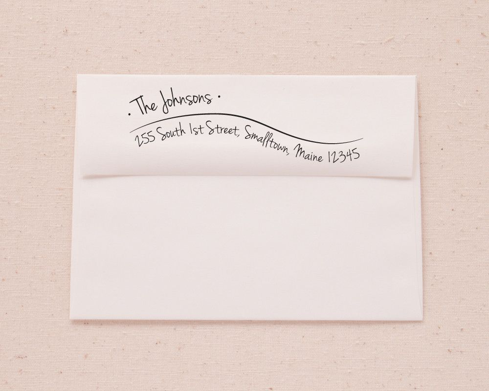 Envelope Address Printing Template