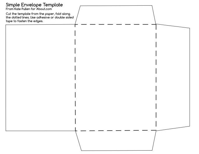 Envelope Printing Templates