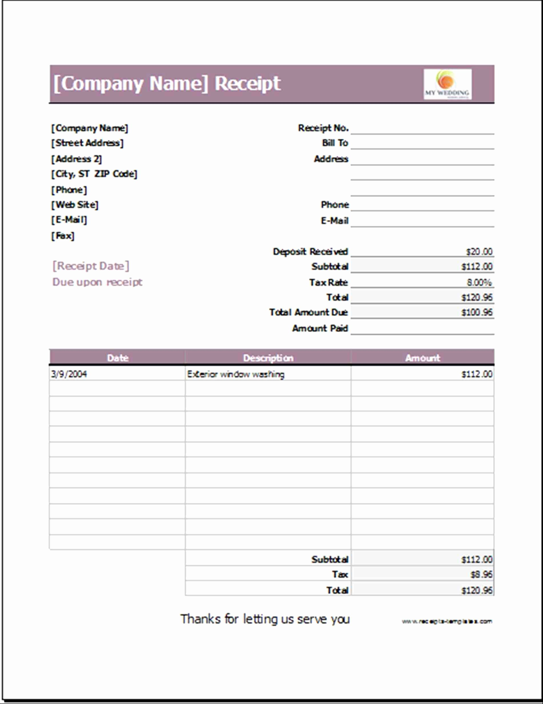Event Planning Invoice Template