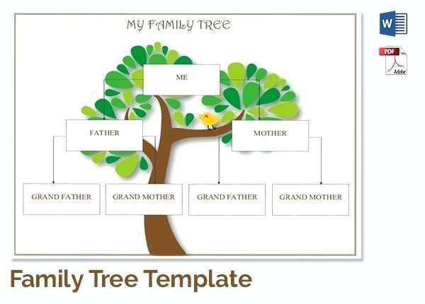 Excel Free Editable Family Tree Template