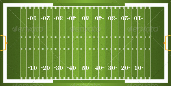 Football Field Templates