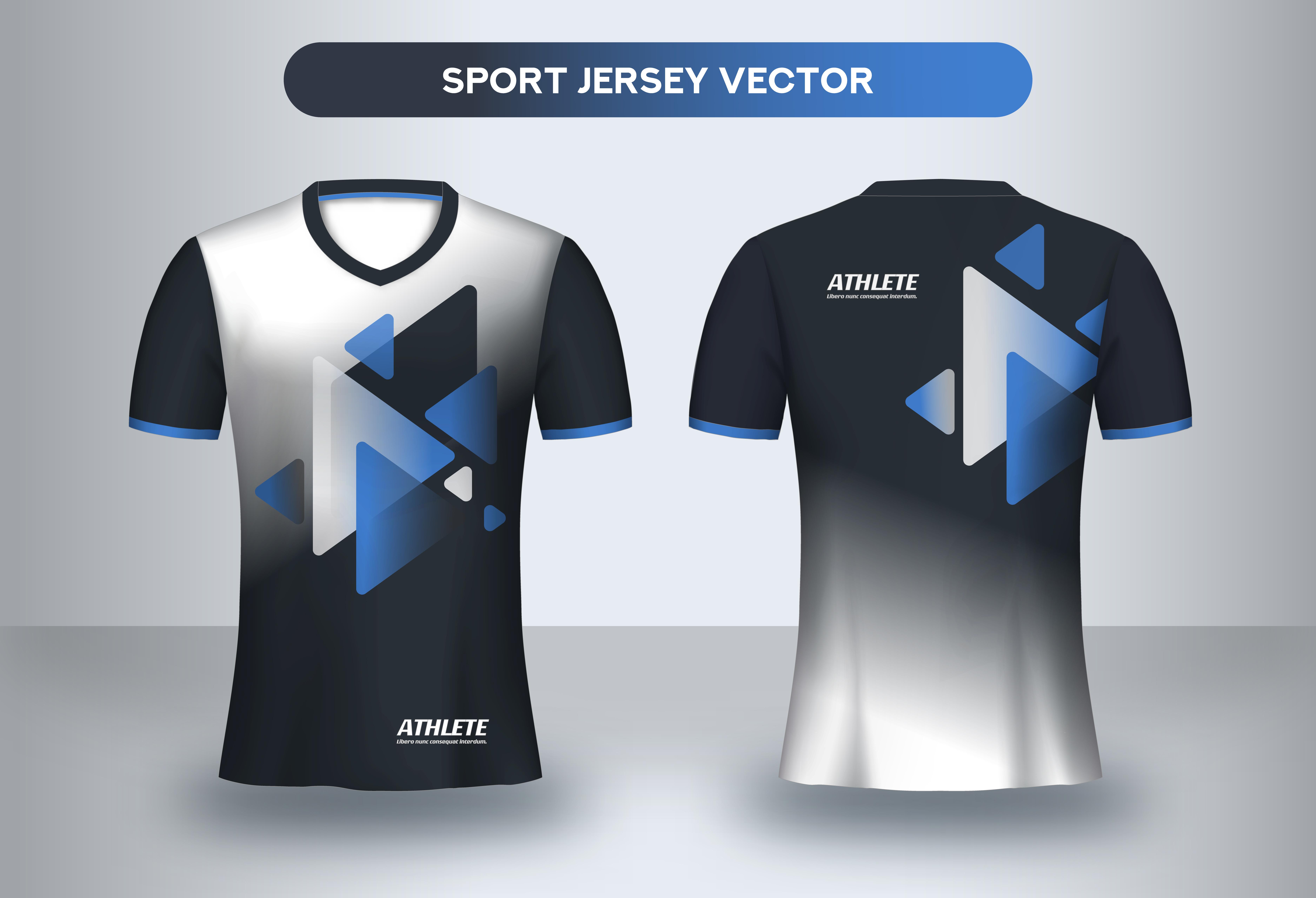 Football Jersey Design Template
