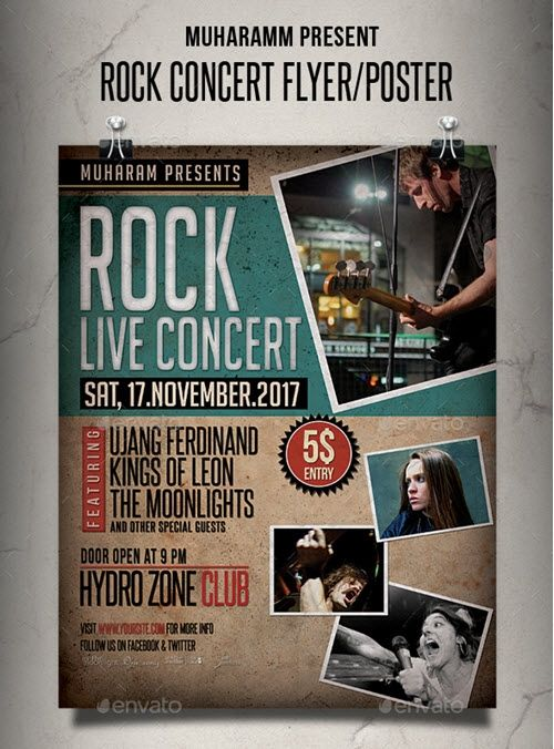 Free Concert Flyer Templates