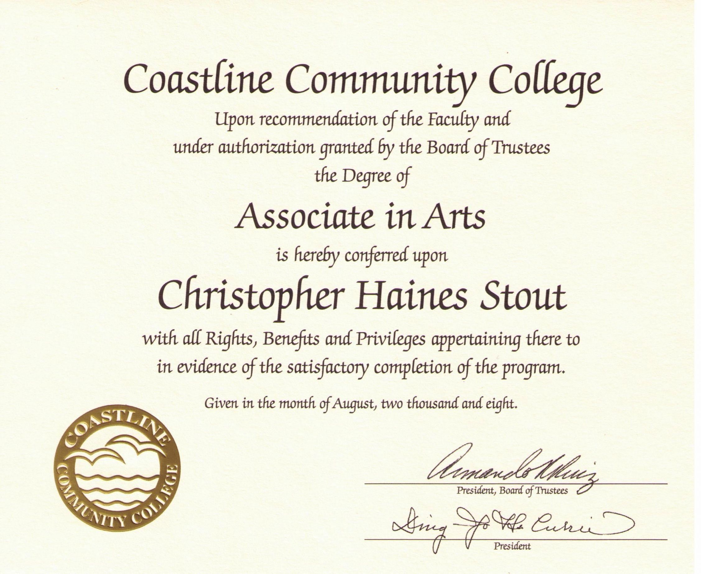 Free Editable College Diploma Templates