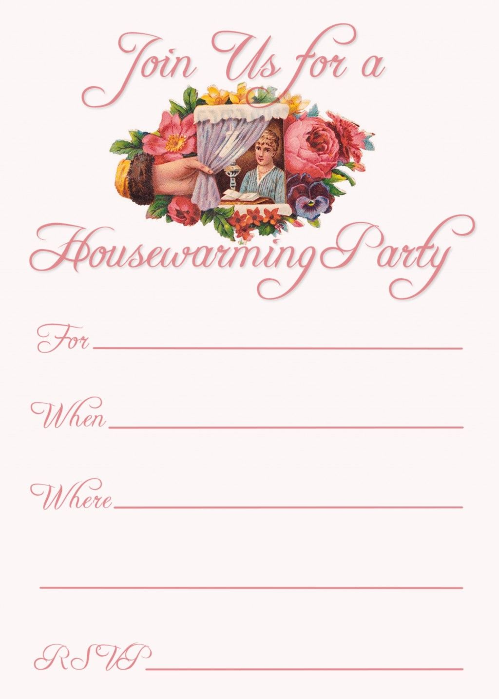 Free Printable Housewarming Invitation Templates