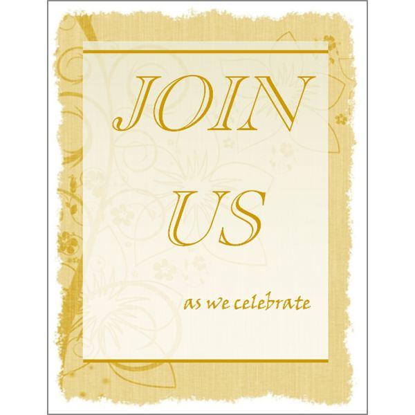 Free Religious Invitation Templates Printable