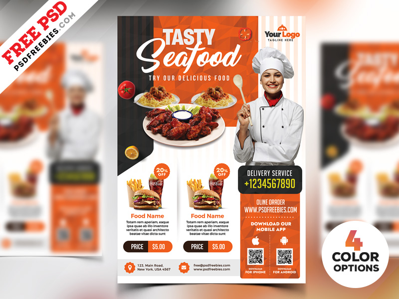 Free Restaurant Flyer Templates