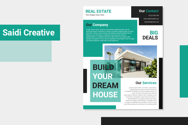 Free Word Real Estate Flyer Template