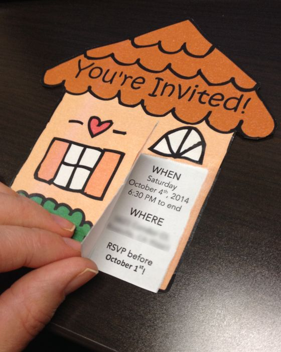 Housewarming Party Invites Free Template