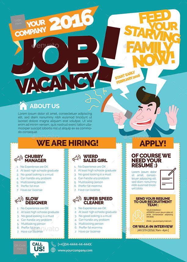 Job Advertisement Flyer Template