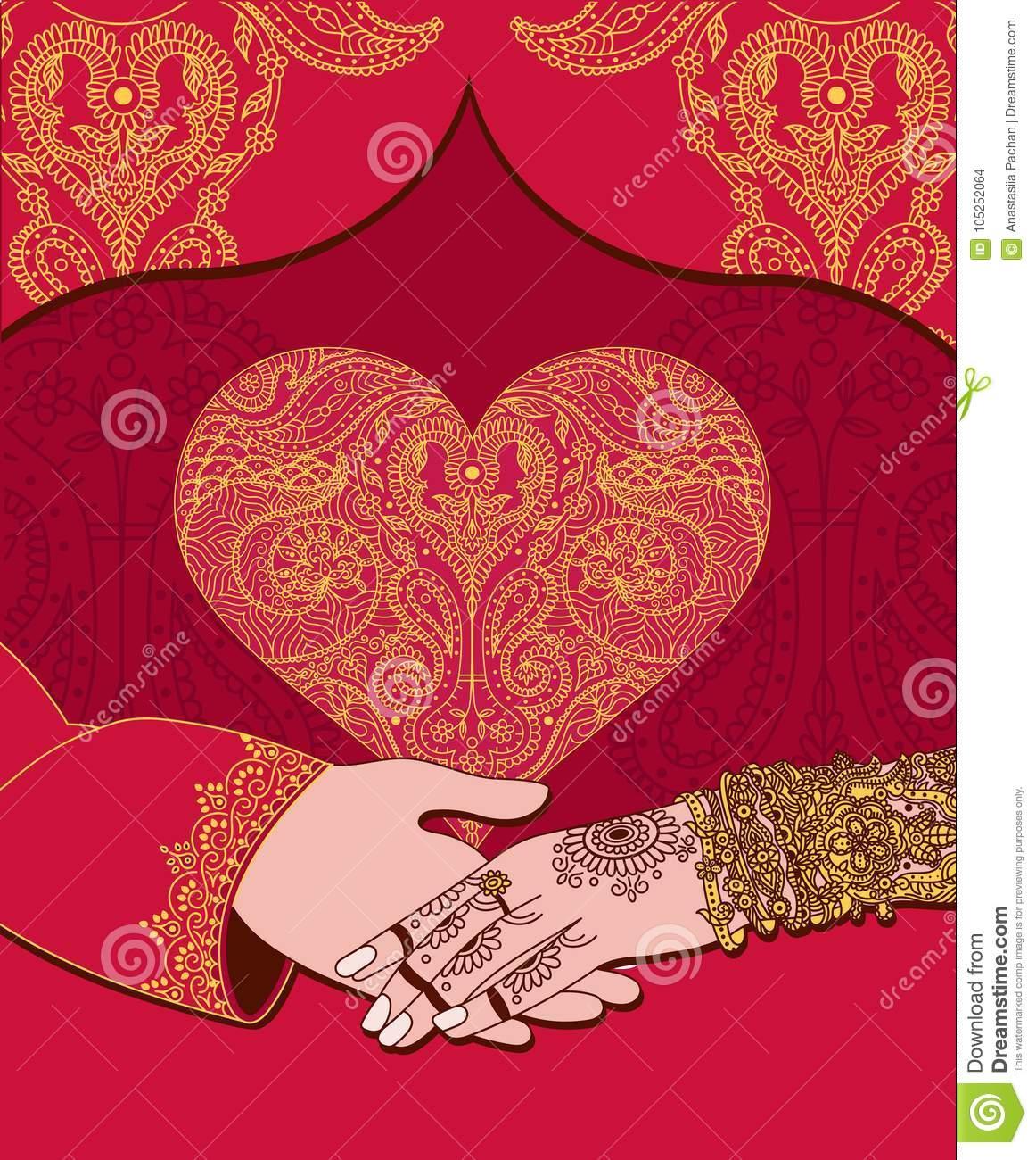 Marriage Invitation Template India