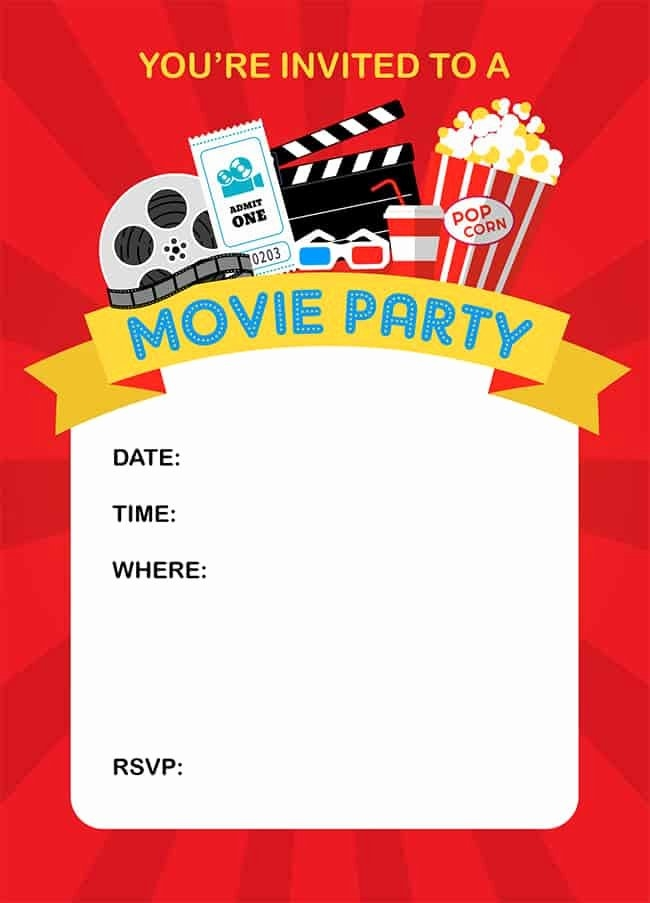 Movie Night Invitation Template Luxury How To Throw A Fun Backyard