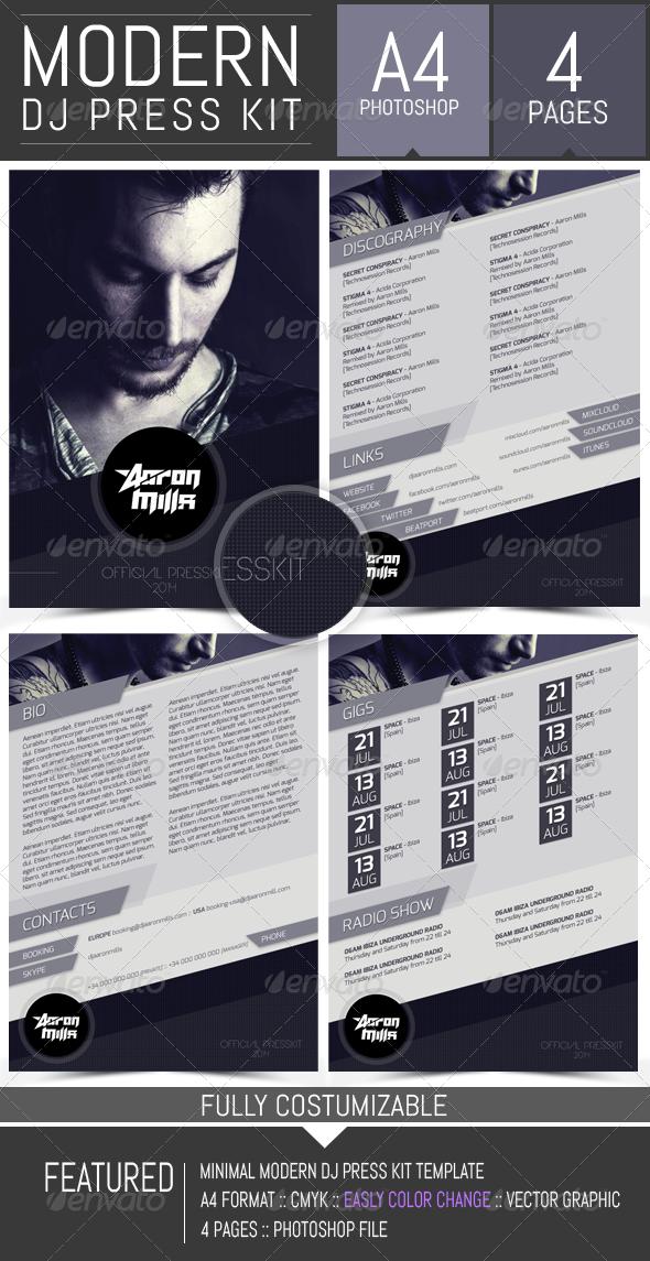 Musician Press Kit Template