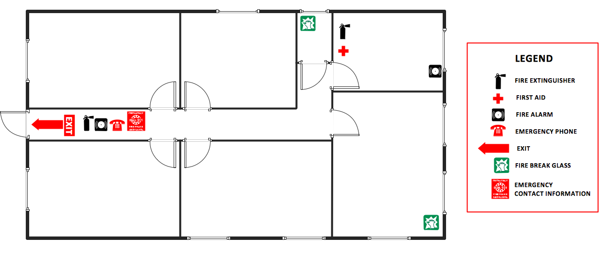 Office Emergency Evacuation Plan Template