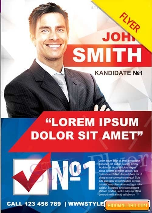 Political Campaign Templates Free