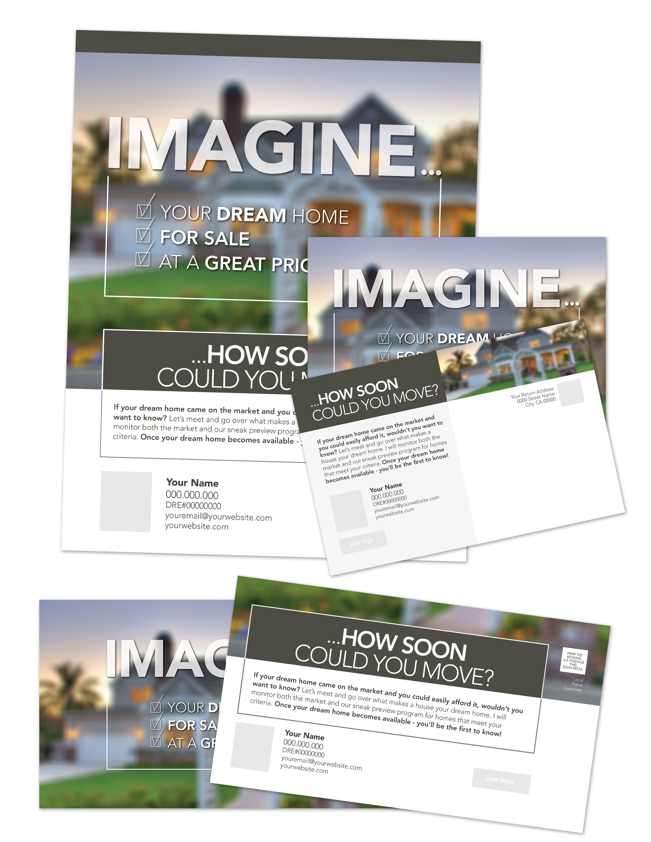 Real Estate Farming Flyers Template