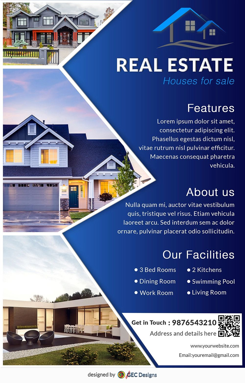 Real Estate Flyers Templates Download Free