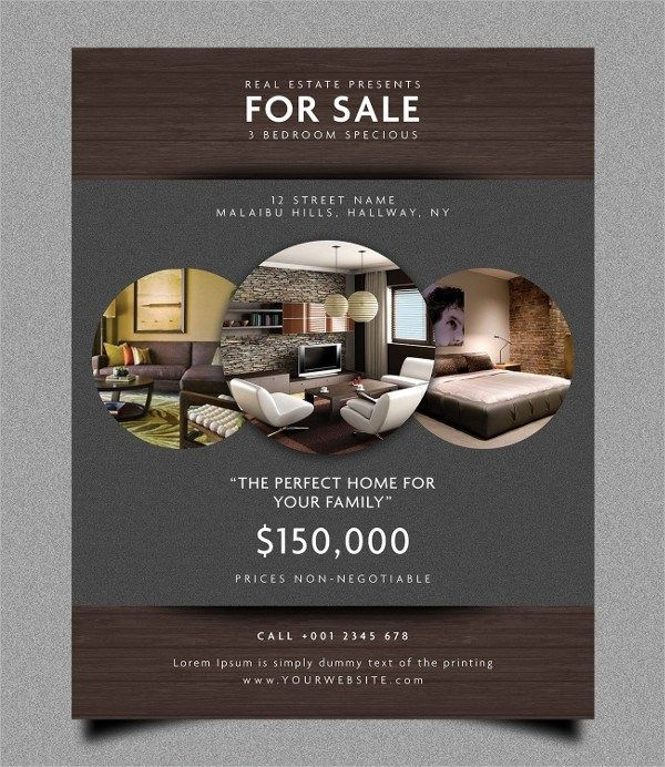 Real Estate Marketing Flyers Templates