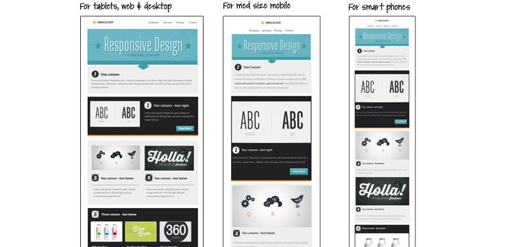 Responsive Email Newsletter Templates