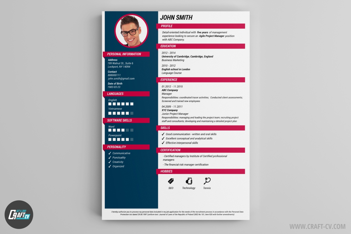 Resume Template Creator