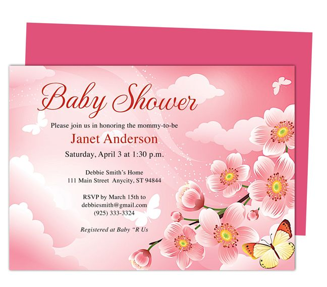 Sample Baby Shower Invitations Templates