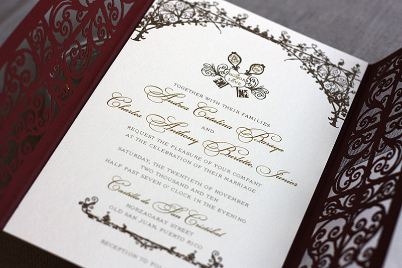 Spanish Wedding Invitation Templates Free