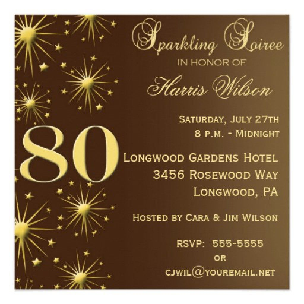 Surprise 60th Birthday Invitation Templates Free