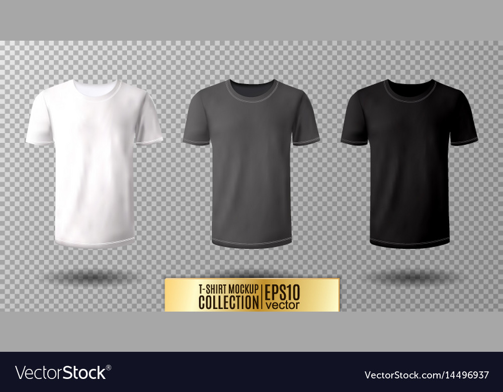 Template Black T Shirt Mock Up
