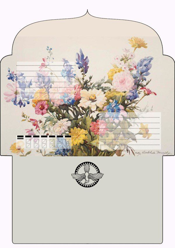 Template For Printing Envelopes